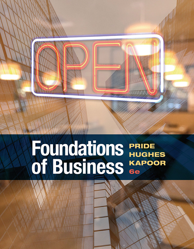 Pride Foundations of Business